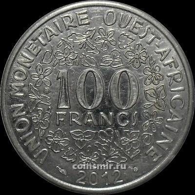 100 франков 2012  КФА BCEAO (Западная Африка). XF