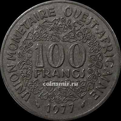 100 франков 1977  КФА BCEAO (Западная Африка).