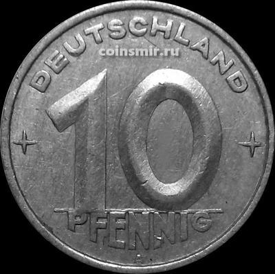 10 пфеннигов 1953 А Германия ГДР.
