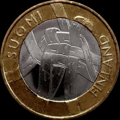 5 евро 2011 Финляндия. Карелия.