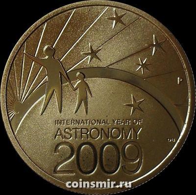 1 доллар 2009 Австралия. Год астрономии.