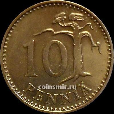 10 пенни 1979 К Финляндия.