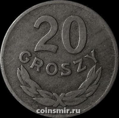 20 грошей 1949 Польша.