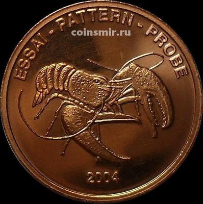 5 евроцентов 2004 Норвегия. Европроба. Ceros. Омар.
