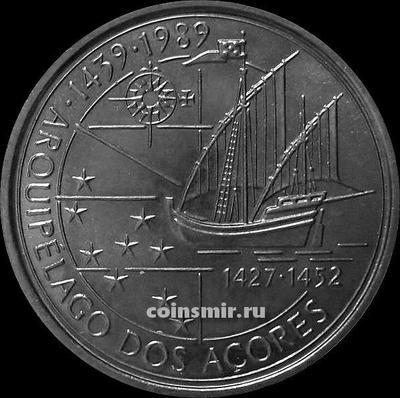 100 эскудо 1989 Португалия. Азорские острова.
