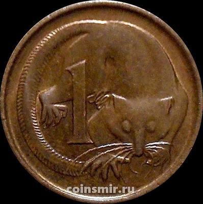 1 цент 1981 Австралия. Карликовый летучий кускус.