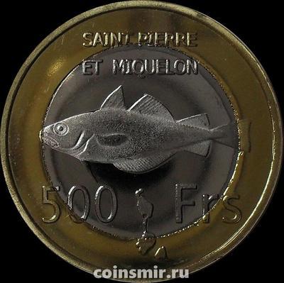 500 франков 2013 Сен-Пьер и Микелон.