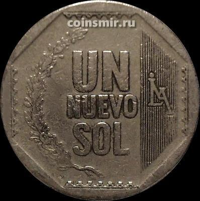 1 новый соль 2007 Перу.