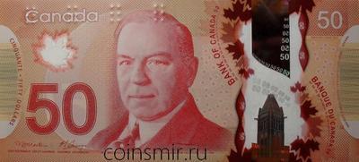50 долларов 2012 Канада.