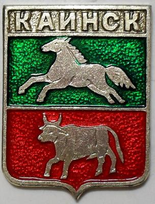 Значок Каинск.