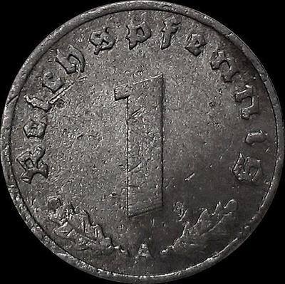 1 пфенниг 1940 А Германия. Третий рейх.