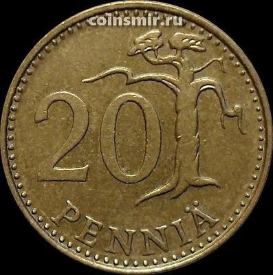 20 пенни 1974 S Финляндия.
