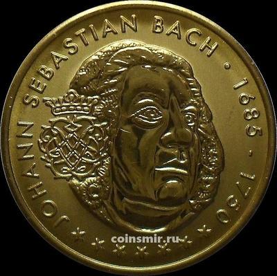 Жетон  Иоганн Себастьян Бах. Германия.