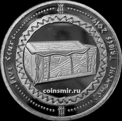 5 центов 2019 племя Команчи.