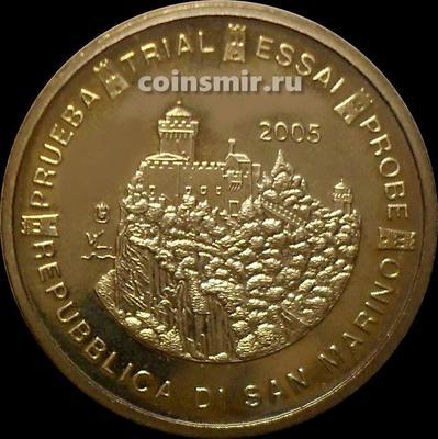 10 евроцентов 2005 Сан-Марино. Европроба. Specimen.