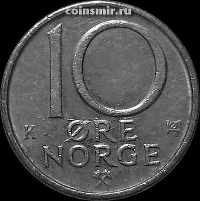 10 эре 1987 Норвегия.