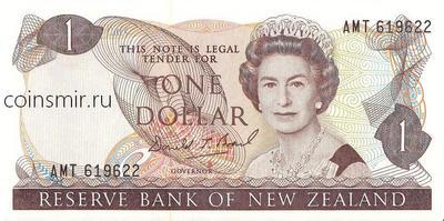 1 доллар 1981-1992 Новая Зеландия.
