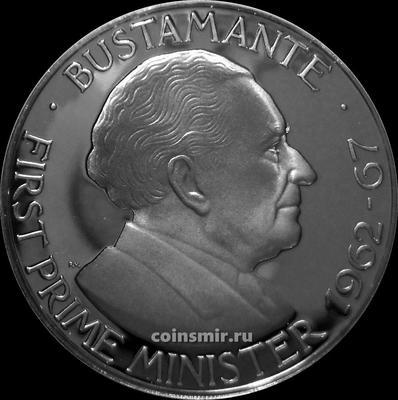 1 доллар 1976 FM Ямайка. Бустаманте. Пруф.