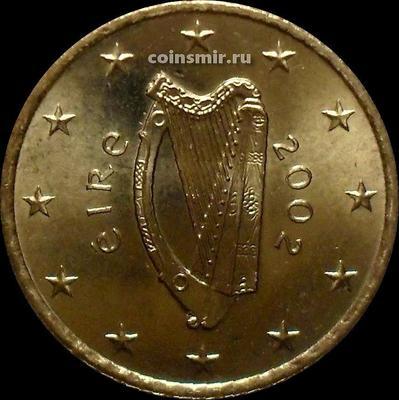 50 евроцентов 2002 Ирландия. Кельтская арфа.