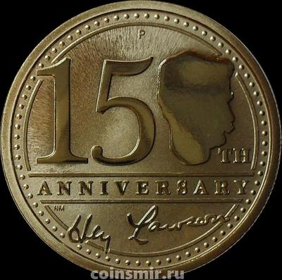 1 доллар 2017 Австралия. 150 лет со дня рождения Генри Лоусона.