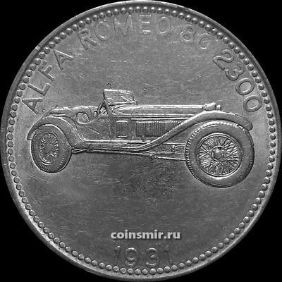 Жетон SHELL Alfa Romeo 8C 2300 1931