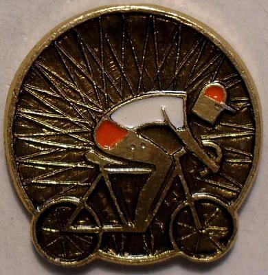 Значок Велоспорт. Спортсмен.