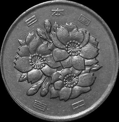 100 йен 1987 Япония.