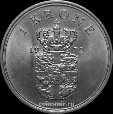 1 крона 1972 S;S Дания.