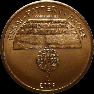 5 евроцентов 2006 Ватикан. Европроба. Xeros-ceros.