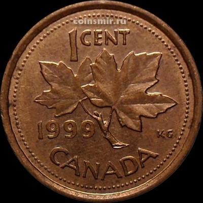 1 цент 1999 Канада.