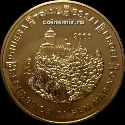 20 евроцентов 2005 Сан-Марино. Европроба. Specimen.