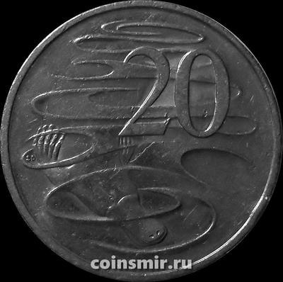 20 центов 2012 Австралия. Утконос.