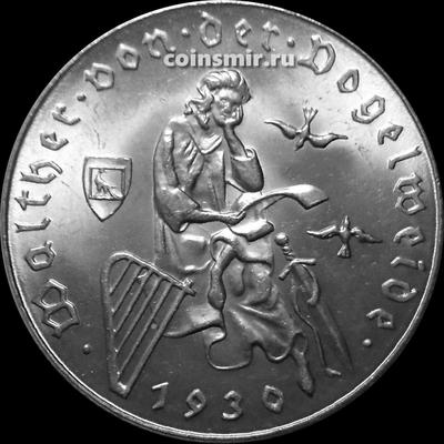 2 шиллинга 1930 Австрия.  Вальтер фон дер Фогельвейде.