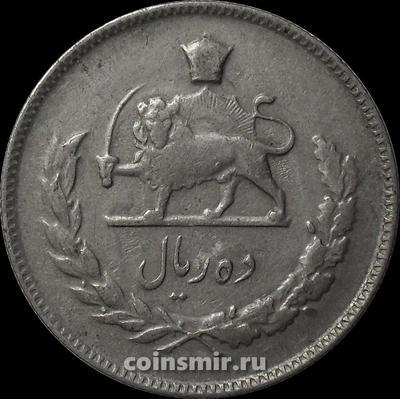 10 риалов 1970 Иран.