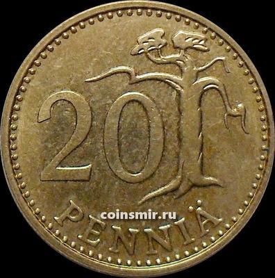 20 пенни 1988 М Финляндия.