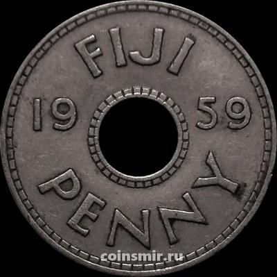 1 пенни 1959 Фиджи.