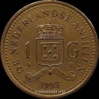 1 гульден 1993 Нидерландские Антильские острова.