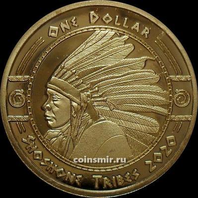 1 доллар 2020 племя Шошоны.