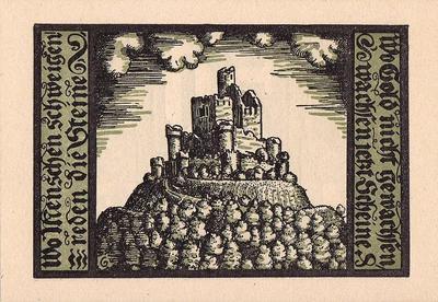 50 пфеннигов 1921 Германия г.Шалькау (Тюрингия). Нотгельд.