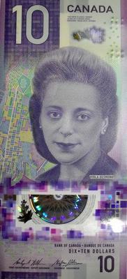 10 долларов 2018 Канада. Виола Десмонд.