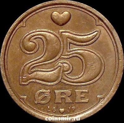 25 эре 1991 LG;JP;A Дания.