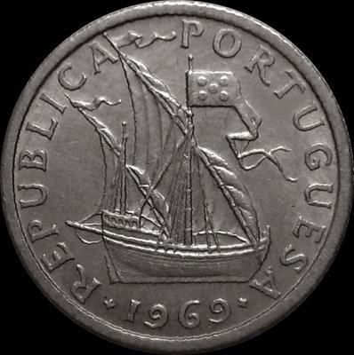 2,5 эскудо 1969 Португалия.