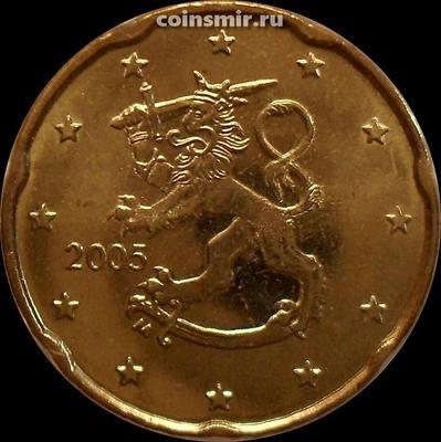 20 евроцентов 2005 М Финляндия.