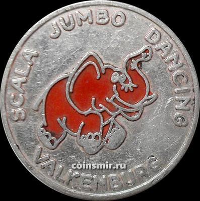 Жетон 1978 Танцующий слон.