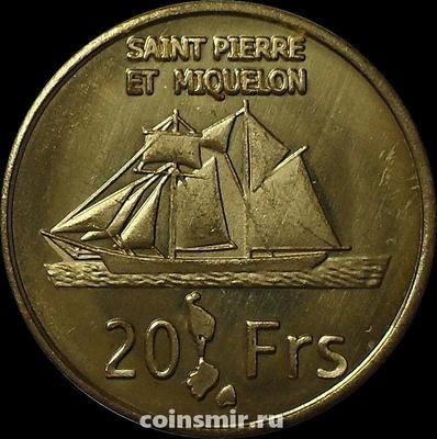 20 франков 2013 Сен-Пьер и Микелон.