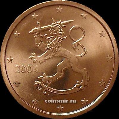 2 евроцента 2004 М Финляндия.