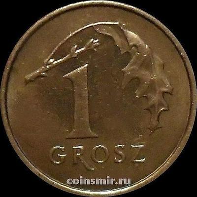 1 грош 2005 Польша.