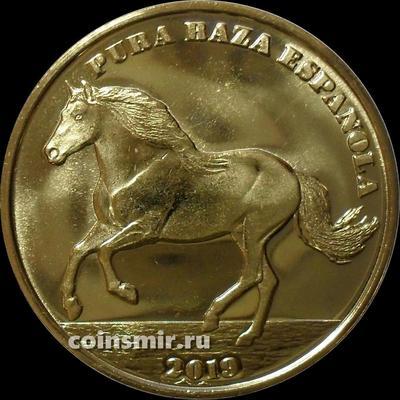 1 крона 2019 Сен-Дени. Испанская лошадь.