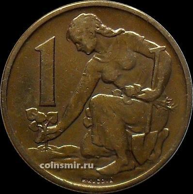 1 крона 1964 Чехословакия.