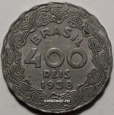 400 рейс 1938 Бразилия.